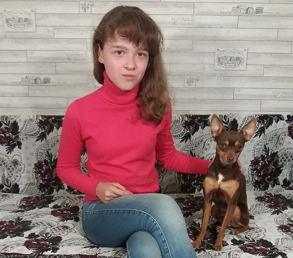Маша с Бэбиком